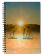 Sailing When The Sun Comes Up Spiral Notebook