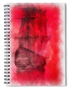 Sailor Take Warning Photo Art 01 Spiral Notebook