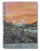 Sailor's Delight Spiral Notebook