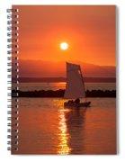 Sailors Solitude 1 Spiral Notebook