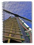 Sails Of A Windmill Spiral Notebook