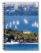 Sails Out To Play Spiral Notebook