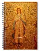Saint Agnes Spiral Notebook