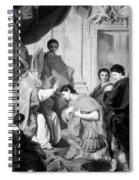 Saint Ambrose (339-397) Spiral Notebook