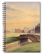 Saint Andrews Golf Course Scotland - 18th Hole Spiral Notebook