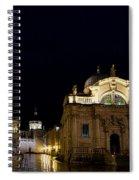Saint Blaise Church - Dubrovnik Spiral Notebook