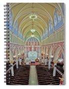 Saint Bridgets Church Spiral Notebook