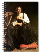 Saint Catherine Of Alexandria Spiral Notebook
