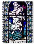 Saint Christopher Spiral Notebook