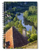 Saint Cirq Lapopie Spiral Notebook