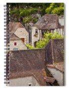 Saint Cirq Rooftops Spiral Notebook