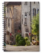 Saint Cirq Street Spiral Notebook