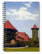 Saint Clements Castle Portland Connecticut Spiral Notebook
