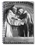 Saint Francis And Saint Dominic Spiral Notebook