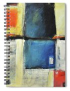 Saint Germain Spiral Notebook