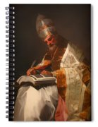 Saint Gregory The Pope Spiral Notebook
