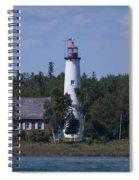 Saint Helena Lighthouse 2 Spiral Notebook