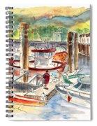 Saint Jean De Luz 04 Spiral Notebook
