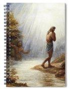 Saint John The Baptist Spiral Notebook