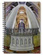 Saint John The Divine Rear Altar View Spiral Notebook