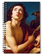 Saint John The Evangelist Spiral Notebook
