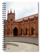Saint John's Cathedral Anglican Church Peshawar Pakistan Spiral Notebook