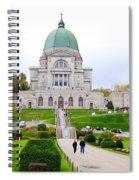Saint Joseph Du Mont Royal Spiral Notebook
