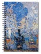 Saint Lazare Station Spiral Notebook