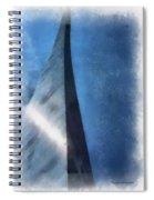 Saint Louis Arch Photo Art 01 Spiral Notebook
