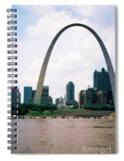 Saint Louis Arch Spiral Notebook