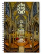 Saint Malachy The Actors Chapel  Spiral Notebook