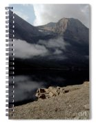 Saint Mary Lake East Glacier Spiral Notebook