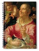 Saint Matthew Spiral Notebook