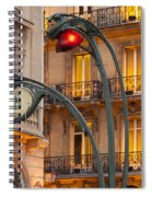 Saint Michel Spiral Notebook
