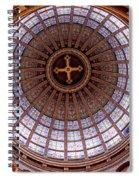 Saint Nicholas Church Dome Interior In Amsterdam Spiral Notebook