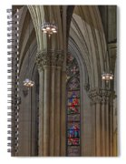 Saint Patrick's Cathedral Stained Glass Window Spiral Notebook