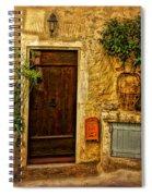 Saint Paul De Vence France Dsc02357 Spiral Notebook
