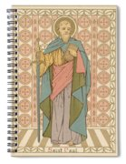 Saint Paul Spiral Notebook