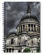 Saint Pauls Cathedral Spiral Notebook