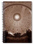 Saint Peter Dome Spiral Notebook