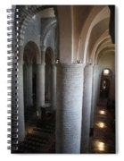 Saint Philibert Church Interior Burgundy Spiral Notebook