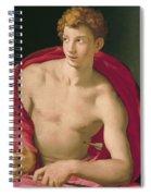 Saint Sebastian Spiral Notebook