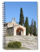 Saint Sixte An Old Chapel Spiral Notebook