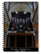 Saint Sulpice Spiral Notebook