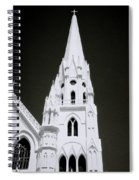 The Surreal Spire Spiral Notebook