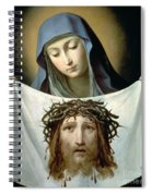 Saint Veronica Spiral Notebook