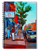Saint Viateur Bagel Shop Spiral Notebook