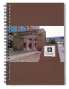 Saints - Champions Square - New Orleans La Spiral Notebook