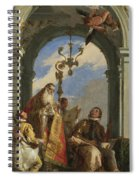 Saints Maximus And Oswald Spiral Notebook