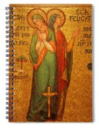 Saints Perpetua And Felicitas Altar Spiral Notebook